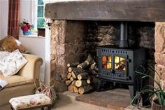 options the hunter inglenook stoves have a number of options and ...