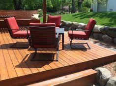 Construction d'une terrasse ou patio à Québec