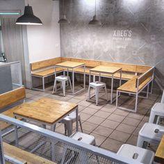 "144 Likes, 1 Comments - IRON MADE IN BUREAU (@ironmadeinbureau) on Instagram: ""#ironmadeinbureau#loft#хлеб's#interiordesign#architecture#furniture#мебельназаказ#архитекторспб#сваркаспб#industrialfurniture#spb#дизайнинтерьераспб"""