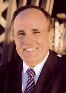 Rudy Giuliani whose leadership in NYC after 911 was incredible.