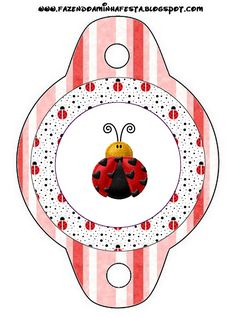 Baby Ladybug, Ladybug Party, Party Printables, Free Printables, Oh My Fiesta, Ladybug Crafts, Bird Party, Printable Paper, Scrapbook Pages