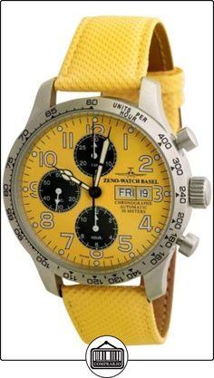Zeno-Watch Reloj Mujer - NC Pilot Tachymeter Cronógrafo Day-Date - 9557TVDD-2T-b91 de  ✿ Relojes para hombre - (Lujo) ✿