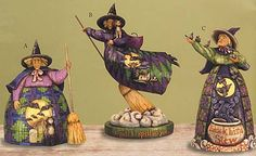 Cellini Fine Gifts | Enesco | Jim Shore Heartwood Creek - Halloween  by Jim Shore