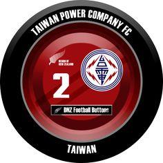 DNZ Football Buttons: Taiwan Power Company FC                                                                                                                                                                                 Mais