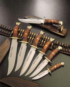 Muela bowie knives