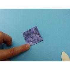 Stern falten | Eine verblüffende Bastelidee. Einen Origamistern falten.