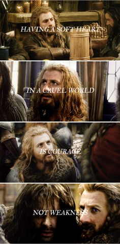 HOW? I have been searching SO LONG for the PERFECT way to describe Fili. HOW did this person do it SO perfectly? <3 <3 <3