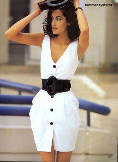 ☆ Yasmeen Ghauri | Photography by Marc Hispard | For Vogue Magazine US | June 1991 ☆ #yasmeenghauri #marchispard #vogue #1991
