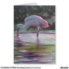 FLORIDA LIVING Greeting Card
