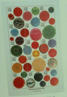 ボタン切手