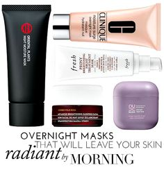 Overnight Masks That Will Leave Your Skin Radiant By Morning | theglitterguide.com
