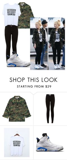 """""""Red Velvet Airport Fashion"""" by pandagirl2102 on Polyvore featuring NLST and NIKE"""