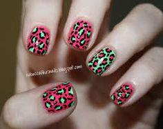 nail art panthère 2