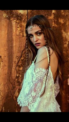 The hippie bohemian dress