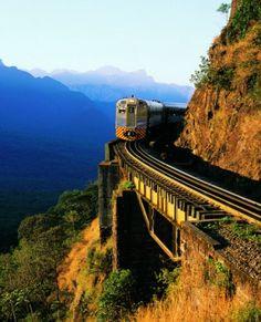 Serra do Mar train .....Brasil