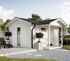 Small Tiny House, Tiny House Cabin, Outdoor Office, Outdoor Decor, Wooden Sheds, She Sheds, Granny Flat, Backyard, Patio