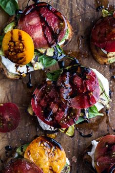 Grilled Caprese Toast with Burrata Cheese and Grilled Avocados #avocado #toast #recipe