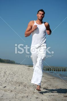 Running for success in freetime Royalty Free Stock Photo