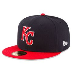 best sneakers f50b1 cb216 Kansas City Royals New Era Country Colors Redux 59FIFTY Fitted Hat -  Navy Red