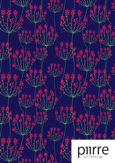 In the middle of the night Venla-Ilona Malkki Flower Prints, Middle, Night, Flowers, Pattern, Movie Posters, Art, Art Background, Film Poster