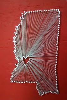 Nails and string!! washington!!