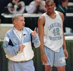 Jerry Stackhouse : Dean Smith in photos