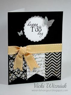 Wizard's Hangout: Happy I Do Day... the Wedding card