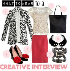 What to wear to a creative interview