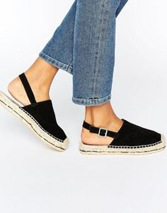 Search for espadrilles at ASOS. Shop from over styles, including espadrilles. Discover the latest women's and men's fashion online Espadrilles, Espadrille Sandals, Wedge Sandals, Types Of Sandals, Minimalist Street Style, Stylish Work Outfits, Looks Street Style, Shoe Pattern, Prada Shoes