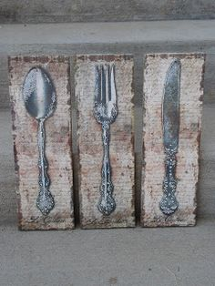 Shelley B Decor And More Spoon Fork Knife Wall Art