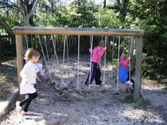 let the children play: The old rickety bridge I'd love to have this in my back yard for the kiddos!!