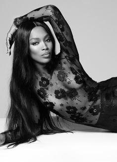 """ Naomi Campbell by Cuneyt Akeroglu for Vogue Turkey November 2014 ""                                                                                                                                                     More"