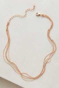 Rosegold Collar Necklace