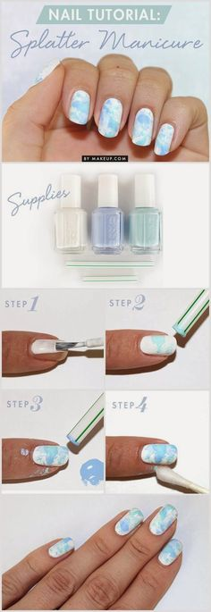 How to: Splatter Manicure | Total beauty