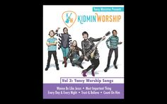 """Yancy Ministries presents """"Kidmin Worship"""" The Ultimate Worship Music Resource with Easy to Use Lyric Videos and Songs Arranged Perfectly for Kids. kidminworship.com"""
