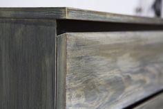Ikea Malm painted to look like Restoration Hardware