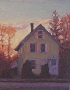 Green House, November Eve, Beacon Street Melissa Anne Miller