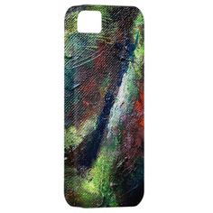 abstract oil paint iphone case