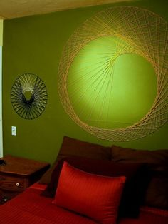 19 DIY String Wall Art
