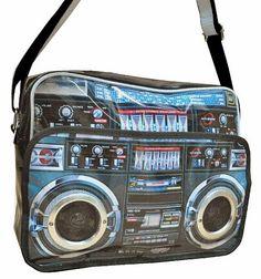 Ghettoblaster/Boombox Shoulder/Messenger Bag