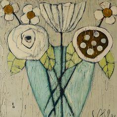 17 Best images about Cecel Allee Folk Art Flowers, Art For Art Sake, Love Art, Painting Inspiration, Art Images, Unique Art, Painting & Drawing, Watercolor Art, Art Projects