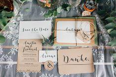 Papeterie für die Hochzeit