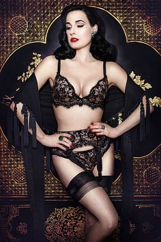 Dita Von Teese Lingerie Spring/Summer 2014 | The Lingerie Addict | Lingerie For Who You Are
