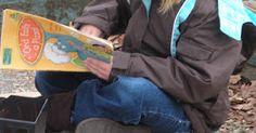 Outdoor reading. It's not just for indoors.http://msbarbarasblog.blogspot.com/2012/03/get-em-outdoors-part-2.html