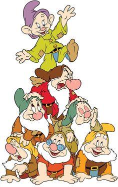 Details about Snow White seven dwarfs T shirt Iron on Transfer light fabric Cute Disney, Disney Art, Disney Pixar, Pocahontas Disney, Walt Disney, Disney Cartoon Characters, Disney Cartoons, Snow White Seven Dwarfs, Snow White Birthday
