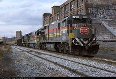 RailPictures.Net Photo: SBD 7011 Seaboard System GE C30-7 at Atlanta, Georgia by George W. Hamlin