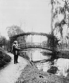 Claude Monet, Giverny, France, 1922.