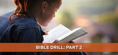Yesterday we looked at the purpose and history of Bible Drill. Today we will look at what Bible Drill will look like in 2017-18, but first, let's talk about how Bible Drill has changed. How has Bib…