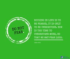 Do not Fear.  #Quote #Zitat #Spruch #Leben
