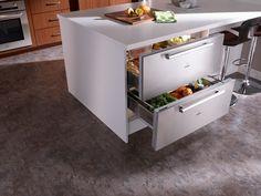 Kitchen - Refrigerator Drawers